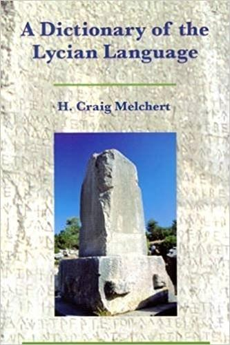 A Dictionary of the Lycian Language: Lycian-English (Paperback)