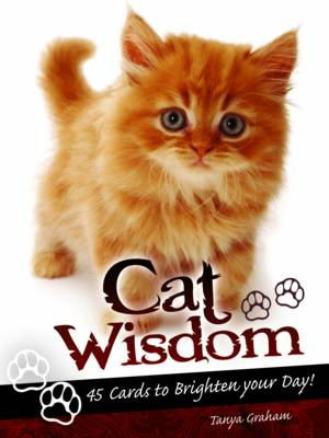 Cat Wisdom Cards: Oracle Book and Card Set