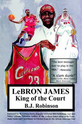 Lebron James--King of the Court (Paperback)