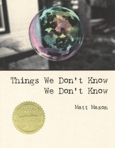 Things We Don't Know We Don't Know (Paperback)