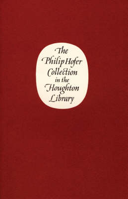 The Philip Hofer Collection in the Houghton Library (Paperback)