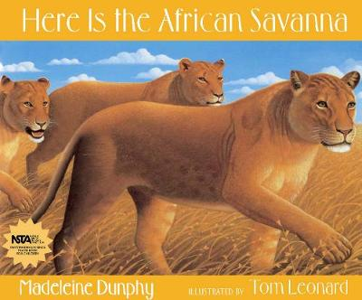 Here Is the African Savanna (Hardback)