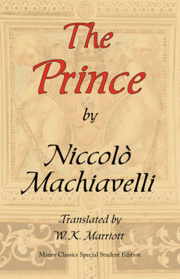 The Prince: Manor Classics Special Student Edition (Paperback)
