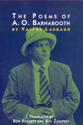 Poems of A. O. Barnabooth (Paperback)