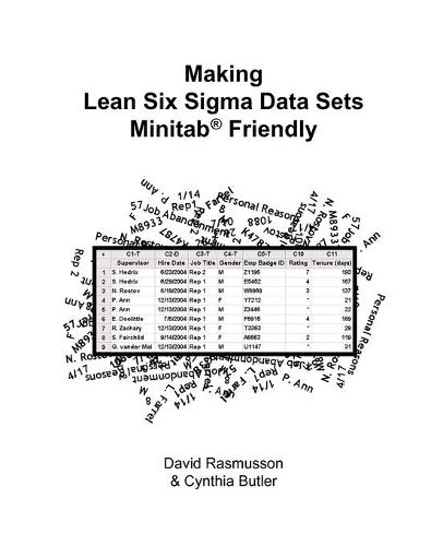 Making Lean Six Sigma Data Sets Minitab Friendly or The Best Way to Format Data for Statistical Analysis (Paperback)