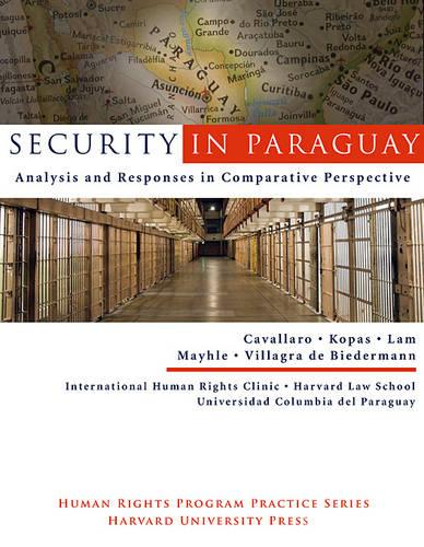 Security in Paraquay: Analysis and Responses in Comparative Perspective (Paperback)
