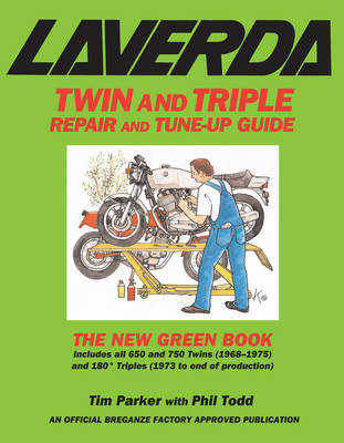 Laverda Twin and Triple Repair and Tune-up Guide: The New Green Book (Paperback)