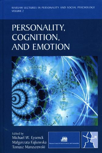 Personality, Cognition, and Emotion - EWP Warsaw Lectures in Personality and Social Psychology (Hardback)