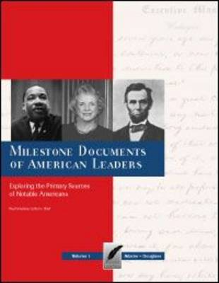 Milestone Documents of American Leaders - MIlestone Documents (Hardback)