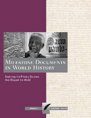 World History - Milestone Documents (Hardback)