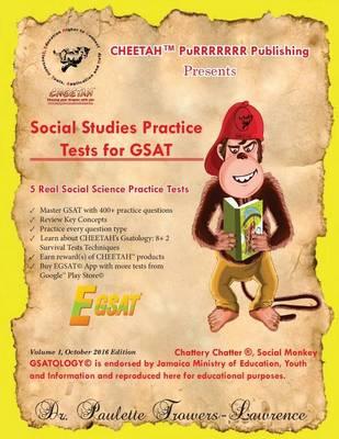 Social Studies Practice Tests for Gsat (Paperback)