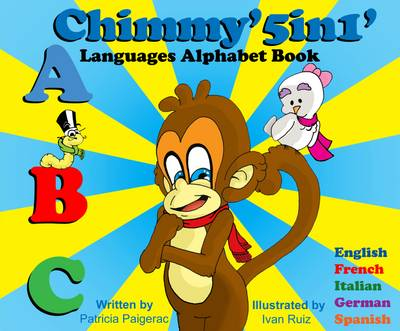 Chimmy 5in1 Languages Alphabet Book (Paperback)