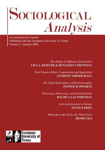 Sociological Analysis: 2008 (Paperback)