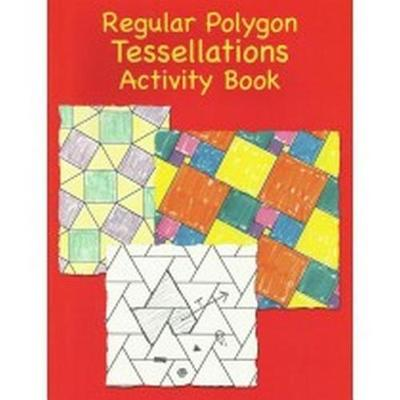 Regular Polygons Tessellations Activity Book (Paperback)