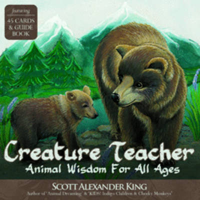 Creature Teacher Cards: Animal Wisdom for All Ages Oracle Card and Book Set