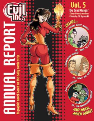 Evil Inc Annual Report Volume 5 (Paperback)