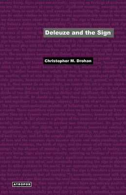 Deleuze and the Sign (Paperback)
