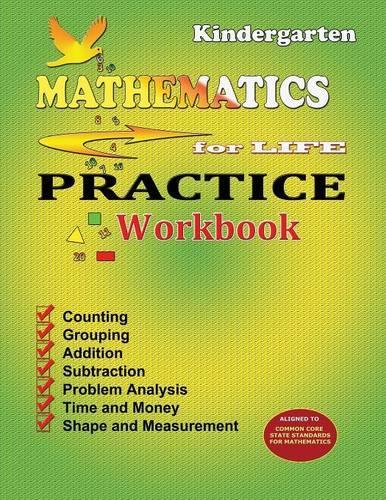 Mathematics for Life Practice Workbook - Kindergarten (Paperback)