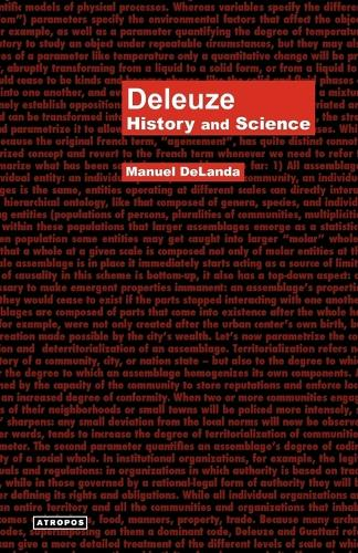Deleuze: History and Science (Paperback)