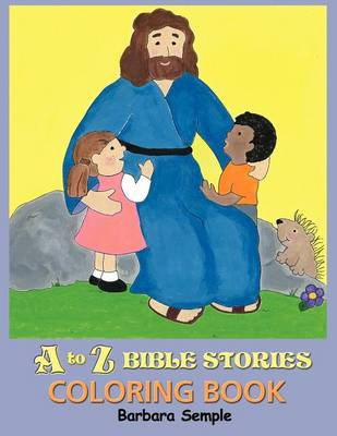 A to Z Bible Stories Coloring Book (Paperback)