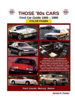 Those 80s Cars - Ford (Paperback)