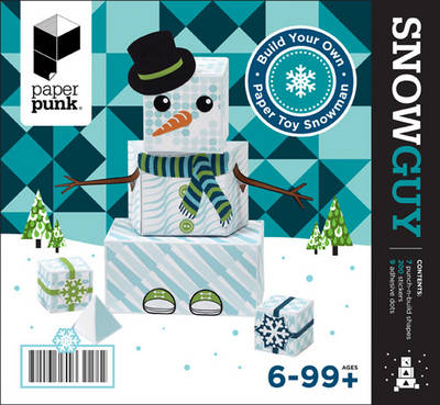 Snowguy/Snowgal: Paper Toy Snowman Kit