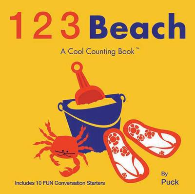 123 Beach: A Cool Counting Book (Board book)