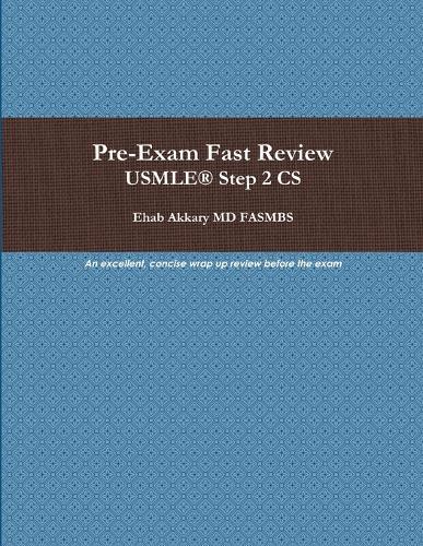 Pre-Exam Fast Review. USMLE(R) Step 2 CS (Paperback)