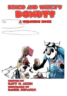Dingo and Willy's Donuts(a Coloring Book) (Paperback)