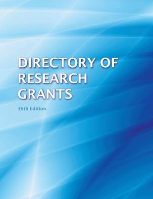 Directory of Research Grants 2013 (Paperback)