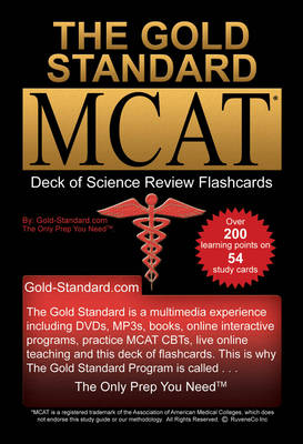 The Gold Standard Deck of Flashcards for the New MCAT CBT