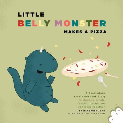 Little Belly Monster Makes A Pizza (Paperback)