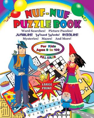 NUF-NUF PUZZLE BOOK Full Color (Paperback)