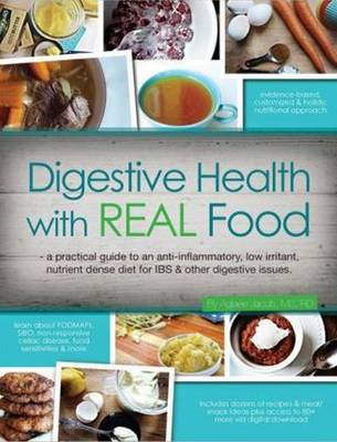 Digestive Health with REAL Food (Paperback)
