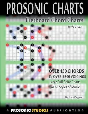 Fretboard Chord Charts for Guitar (Paperback)