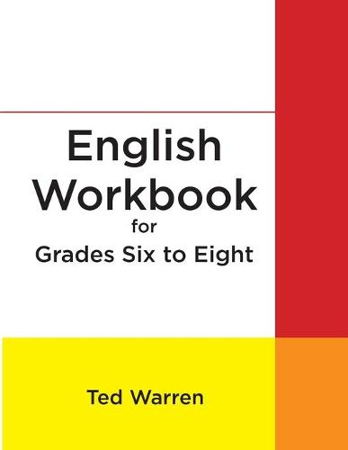 English Workbook for Grades Six to Eight (Paperback)
