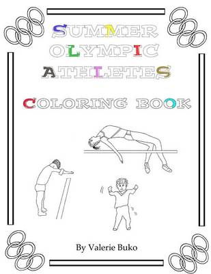 Summer Olympic Athletes Coloring Book (Paperback)