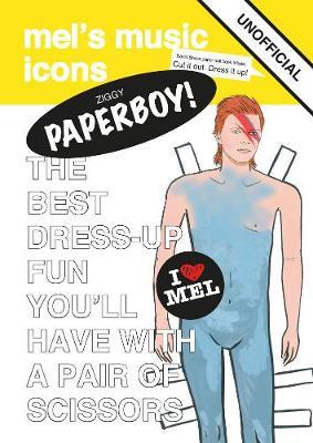 Ziggy Paperboy!: David Bowie Paper Doll (Paperback)