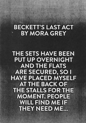 Beckett's Last Act (Paperback)