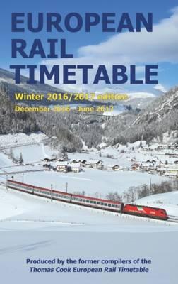 European Rail Timetable Winter: December 2016 - June 2017 (Paperback)