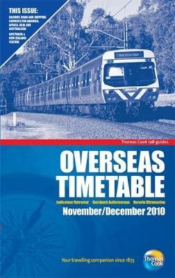 Overseas Timetable: November / December 2010 (Paperback)