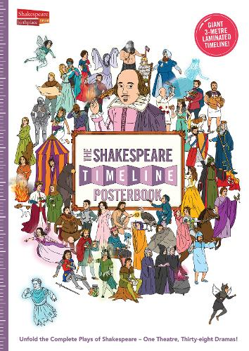 The Shakespeare Timeline Posterbook: Unfold the Complete Plays of Shakespeare - One Theatre, Thirty-Eight Dramas! (Big book)