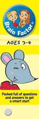 Brain Factor Ages 3-4 - Brain Factor (Paperback)