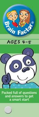 Brain Factor Ages 4-5 - Brain Factor (Paperback)