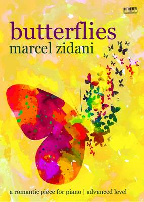 Butterflies: A Romantic Piece for Piano (Paperback)