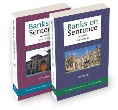 Banks on Sentence 2018 Two-volume set (Paperback)