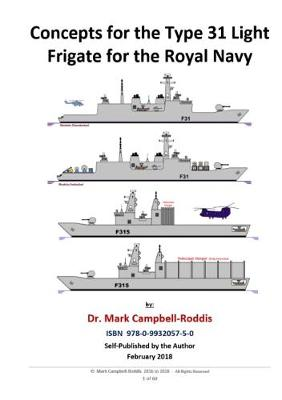 Concepts for the Type 31 Light Frigate for the Royal Navy (Paperback)