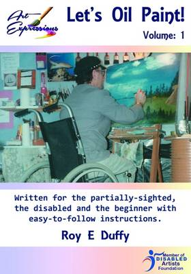 Let's Oil Paint: For Beginners and Disabled People (Paperback)