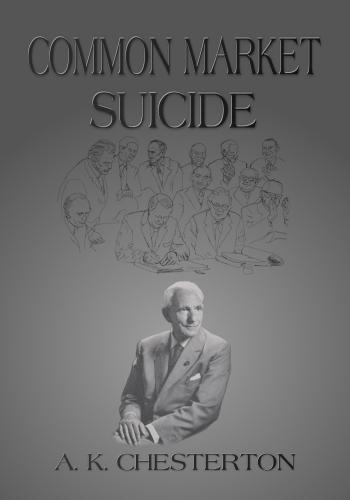 Common Market Suicide (Paperback)