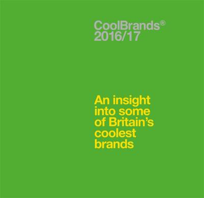 Coolbrands: An Insight into Some of Britain's Coolest Brands 2017 (Hardback)